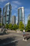 Waterfront condominiums, Vancouner poster
