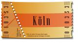 Fototapety Ticket-Köln