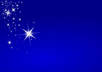 Merry Christmas stars light