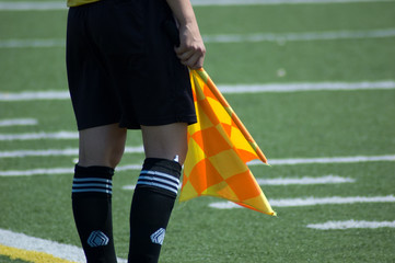 soccer linesman