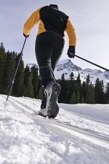 Klassisch Langlaufen - Sport mit Dynamik