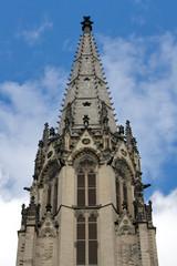 Kirchturmspitze Herz-Jesu-Kirche