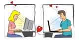 Amor Virtual poster