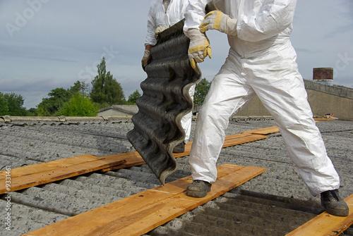 Leinwandbild Motiv Asbest - asbestos 05