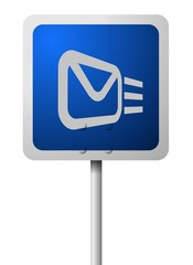 Email Sign Post