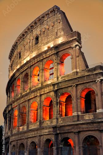 Obraz na Szkle Colosseum