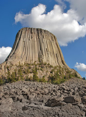 Devil's Tower National Monument in Wyoming