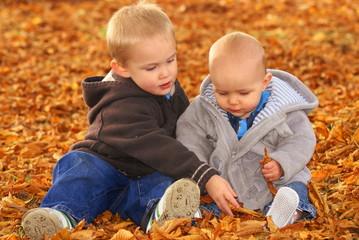 babies in park
