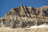 Rocky mountains in August in Yoho National Park Canada poster