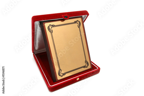 Golden Plated Plaque
