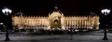 Pałacyk Petit Palais nocą- Paryż