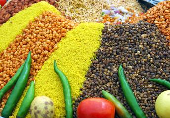 condimento de la comida hindú