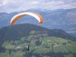 Paragleiter in wildschönau tirol österreich