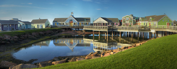 spinnakers landing fishing village summerside Pei
