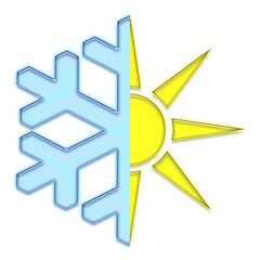 Symbole climatisation