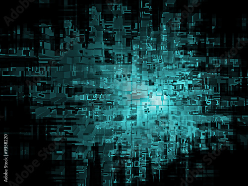 Cool abstract digital background