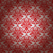 red and silver repeating wallpaper design with gradient effect
