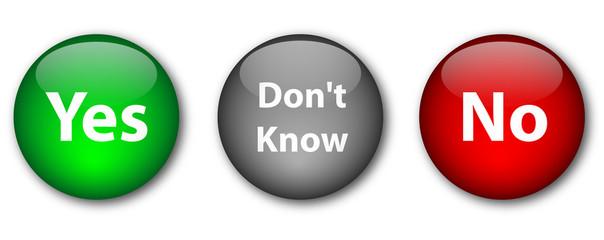 Survey buttons