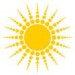 Radiating Sun