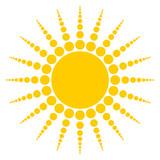 Radiating Sun poster