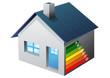 Performance énergétique d'une maison (détouré)