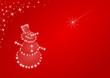 pupazzo di neve, Merry Christmas
