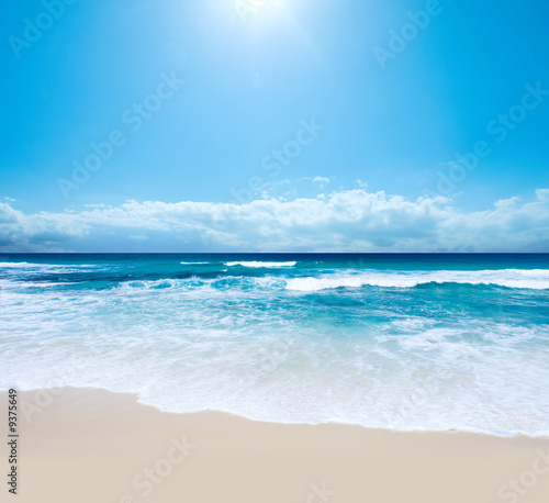 canvas print picture Gorgeous Australian Beach in Southern NSW