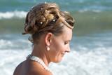 coiffure de mariée poster
