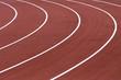 pistes d'athlétisme au stade