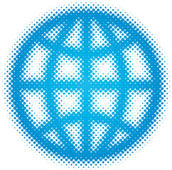 globe (dots design series)