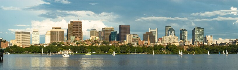 Boston Downtown panorama