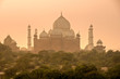 Taj Mahal at sunset, Agra, Uttar Pradesh, India.