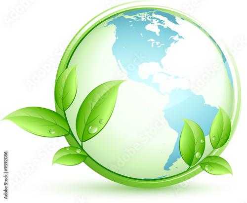 Plan te terre bleue et feuilles from beboy royalty free for Plante bleue