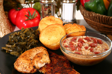 Cajun Chicken and Catfish
