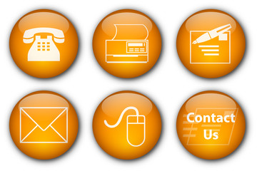 Contact buttons (orange)