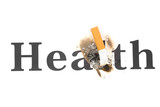 A Cigarette Butt close up, concept of Unhealthy Living poster