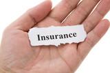 Headline of Insurance poster
