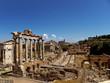 rom, die ewige stadt, forum romanum, via sacra