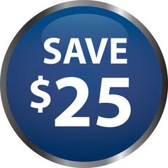 Sale - Save $25