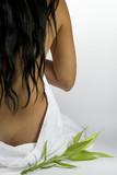 Fototapety Back of women at spa massage