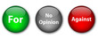 Survey buttons