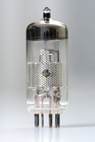 Vacuum tube - old electronic component poster