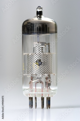 poster of Vacuum tube - old electronic component
