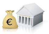 Budget en bourse (reflet) poster