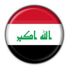 iraq button flag round shape