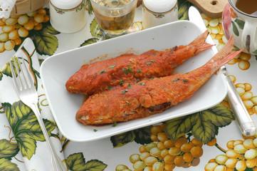 Triglie al pomodoro - Secondi di pesce