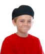 Boy in Red Shirt