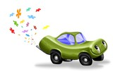 ecologic car poster