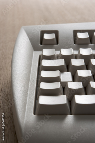 Computer Keyboard With Blank Keys