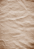 Background of old wrinkled fabric surface poster